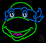 Teenage Mutant Ninja Turtles Leonardo Neon Sign