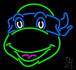 Teenage Mutant Ninja Turtles Leonardo LED Neon Sign