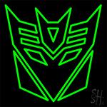 Transformers Deceptions Neon Sign