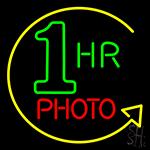 1 Hr Photo Neon Sign