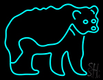 Bear New Animals Neon Sign