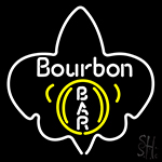 Bourbon Bar Neon Flex Sign