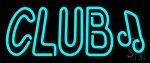 Club Music Neon Sign