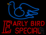 Early Bird Special Neon Sign