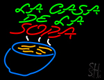 Fa Casa De Fa Sopa Neon Sign