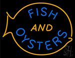 Fish And Oysters LED Neon Sign
