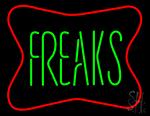 Freaks Neon Sign