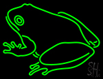 Frog Logo Neon Sign