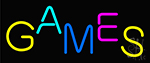 Games Neon Sign
