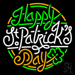 Happy St Patrick Day Neon Sign
