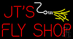 Jts Fly Shop Neon Sign