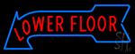 Lower Floor Neon Sign