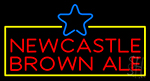 Newcastle Brown Ale Neon Flex Sign