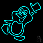 Penguins Neon Sign