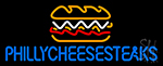 Philly Cheese Steaks Neon Sign