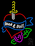 Rook And Roll Neon Sign