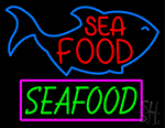 Sfa Food Seafood Neon Sign