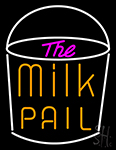 The Milk Pail Neon Sign