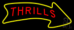 Thrills Neon Sign