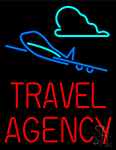 Travel Agency Fashion Neon Sign