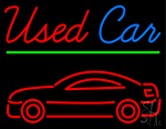 Used Car Neon Sign