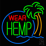 Wear Hemp Neon Sign