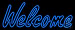 Welcome Restaurant Neon Sign