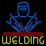 Welding Neon Sign