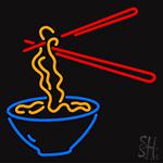 Bowl Noodles Neon Sign