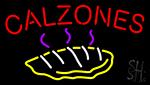 Calzones Food Neon Sign