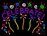 Celebrate Neon Sign