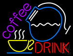 Coffee Drink Neon Sign