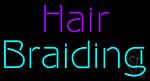 Hair Braidins Neon Sign