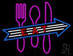 Late Night Retro Diner Neon Sign