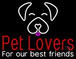 Pet Lovers Neon Sign