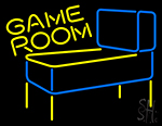 Pinball Game Room Neon Sign