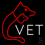 Vet Veterinary Neon Sign