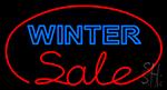 Winter Sale Neon Sign