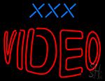 Xxx Video LED Neon Sign