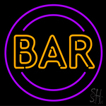 Bar Retro Symbol Neon Sign