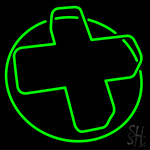 Pharmacy Green Cross Neon Flex Sign