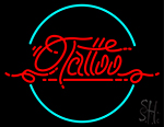 Red Retro Tattoo Neon Sign