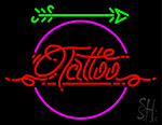 Retro Tattoo Arrow Neon Sign