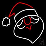 Santa Face Neon Sign