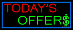 Today S Offers Neon Sign