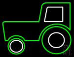 Tractor Series Neon Sign
