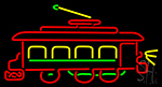 Trolley Car Neon Sign