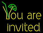 You Are Invited Neon Sign
