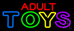 Adult Toys Neon Sign