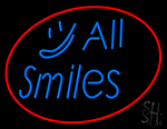 All Smiles Neon Sign